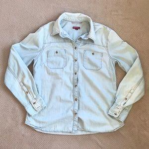 Button up jean shirt